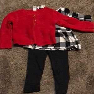 Carters three piece outfit